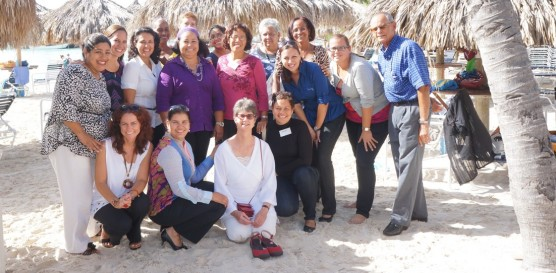 Trainees in Aruba